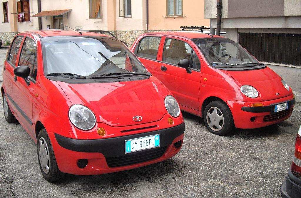 Daewoo Matiz обойдется в 149 000 грн