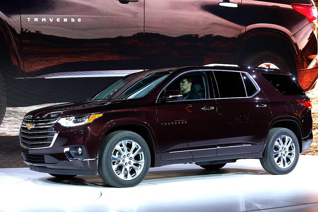 General Motors выпускает Buick, Cadillac, Chevrolet и GMC