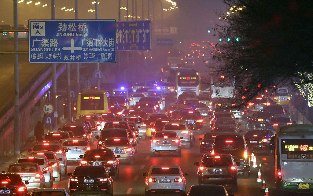 В Китае действительно плохая экология