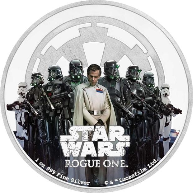 В новейшей Зеландии выпустили монеты ссимволикой Star Wars