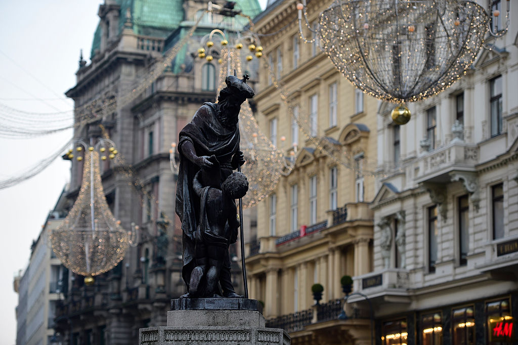 В Вене сказочная архитектура