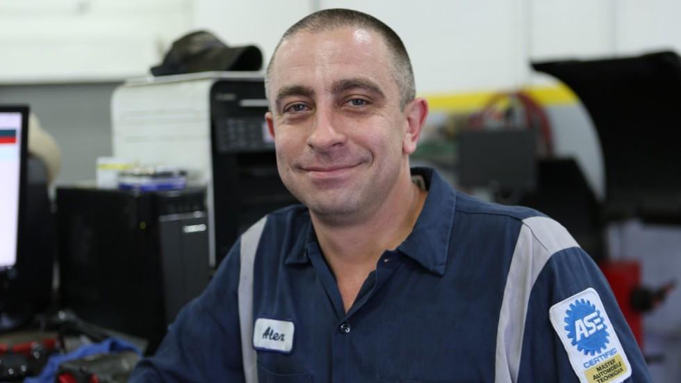 Алексей Белов - владелец уникального для США авто