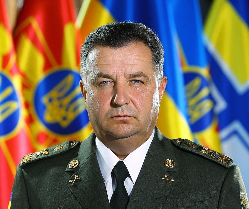 Степан Полторак  получил 93 тыс 120 грн