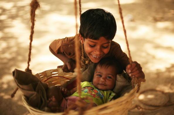 Многие жители Индии находятся за чертой бедности