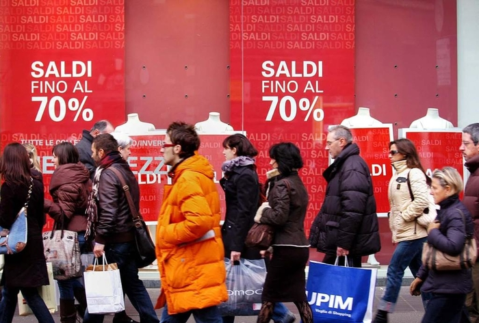 В Милане часто бывают настоящие распродажи