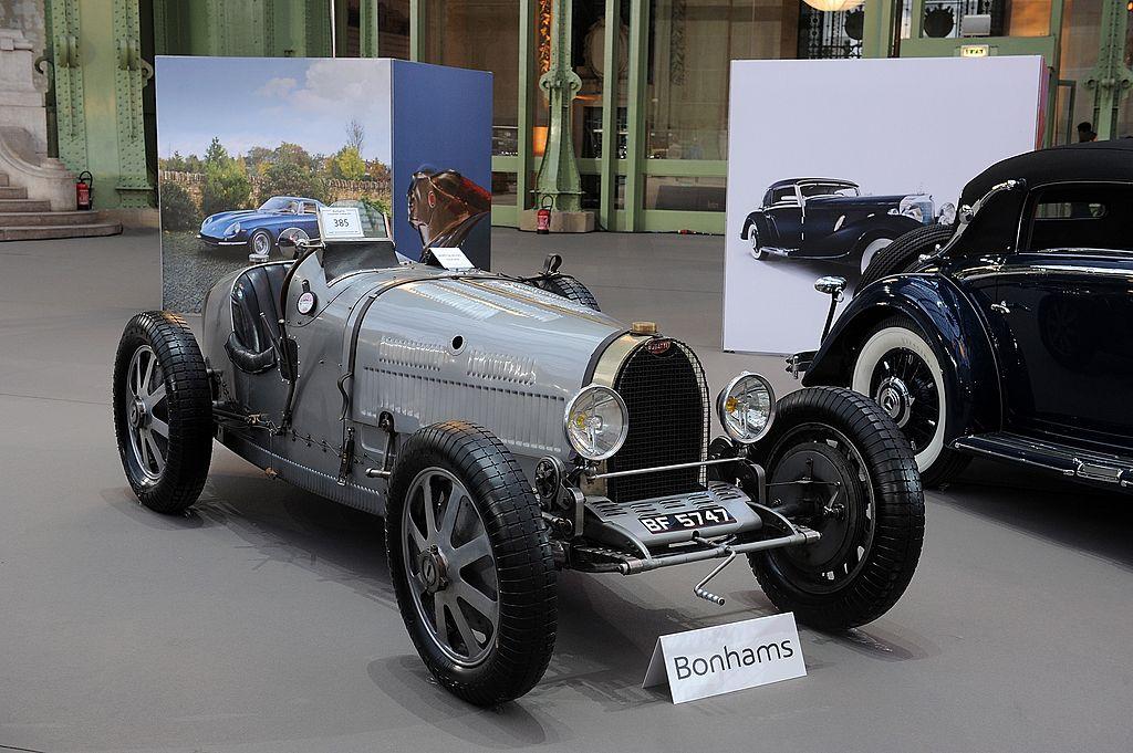 Bugatti Type 35 Grand Prix - безумно дорогое авто, позволить которое себе может только миллиардер