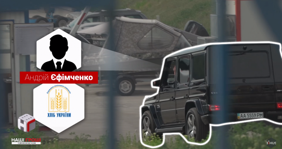 Mercedes Андрея Ефимченко