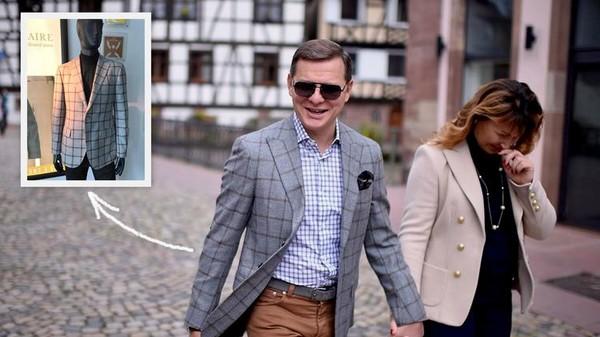 Пиджак Ляшко за 90 тысяч гривен
