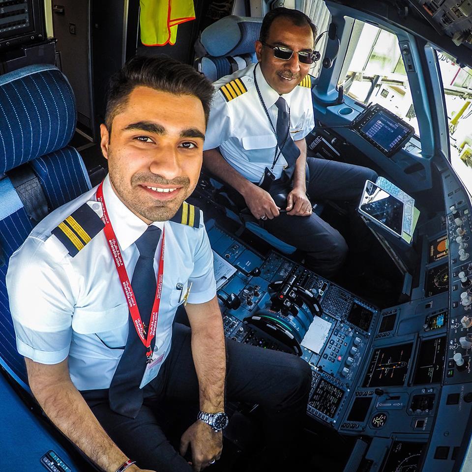 Пилоты Air Arabia из ОАЭ