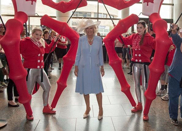 Герцогиня Камилла посетила фермерский рынок в Канаде