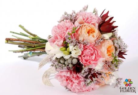 Букет нареченої від Golden Flower, 900 грн