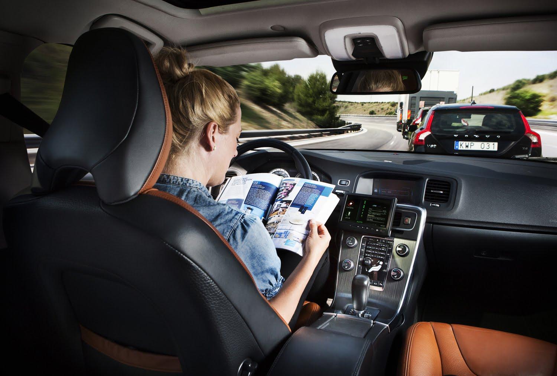 Автомобиль на автопилоте - ближайшее будущее