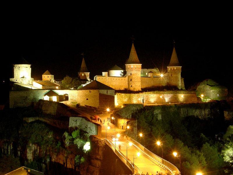 Посмотреть на настоящих рыцарей можно в Каменец-Подольске