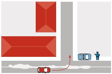Водитель не может соблюдать требования разметки, если дорога заснежена