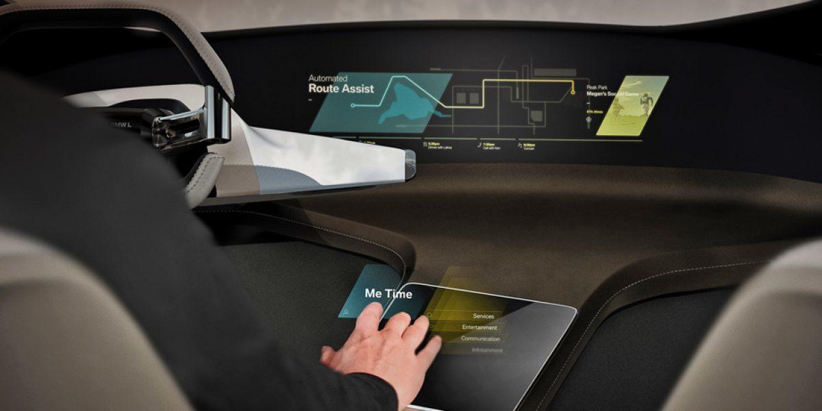 С сенсорными голограммами BMW управление станет более безопасным