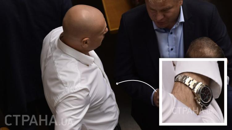 Игорь Палица носит Ролекс