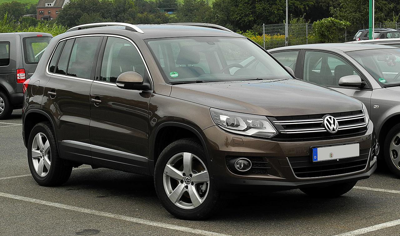 Сборка авто Volkswagen Tiguan осуществляется в Германии и России