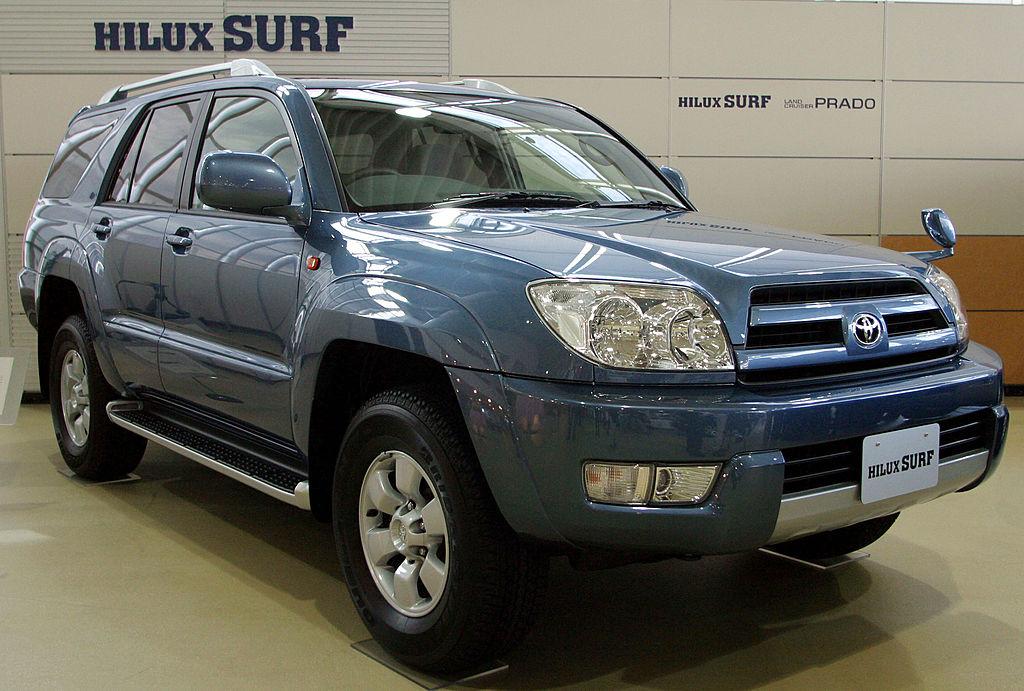 Toyota Land Cruiser Prado - средняя цена 26 650 долл