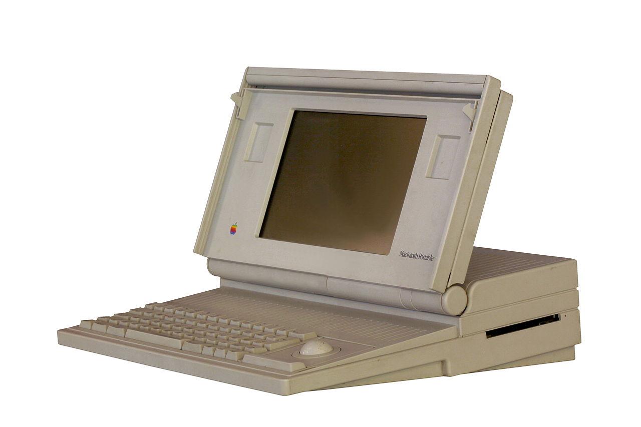 Macintosh Portable - пример первого