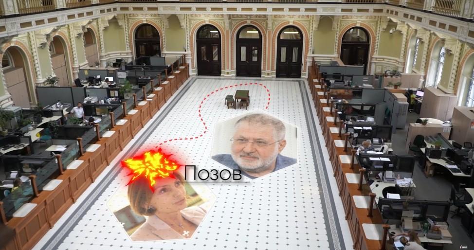 Рожкова считает виновником Коломойского