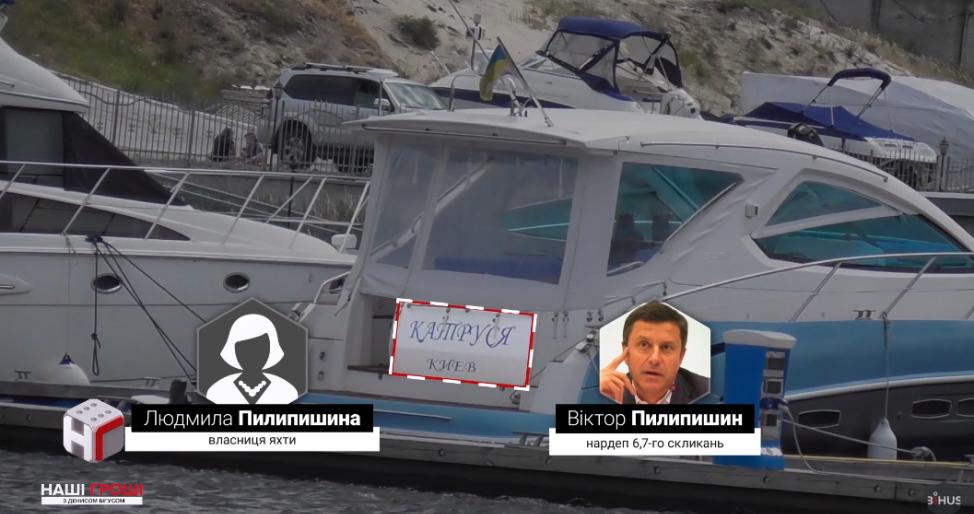 Виктор Пилипишин владеет круизным катером Катюша