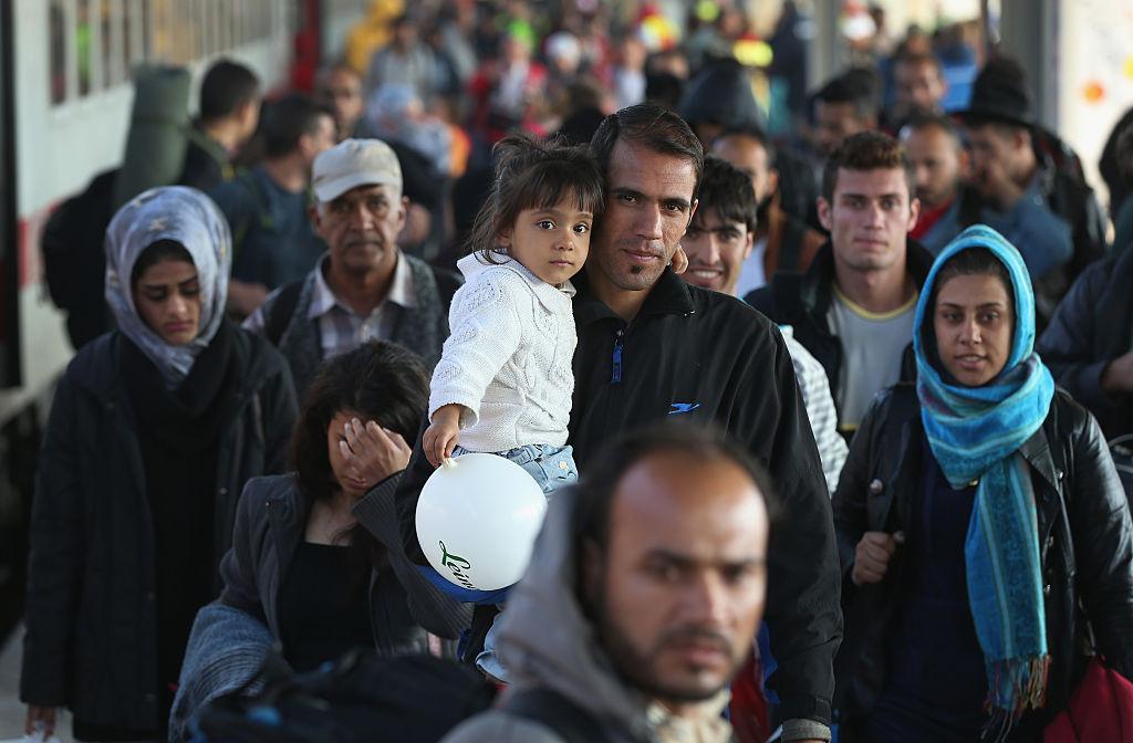 Кроме украинцев в Германию стремятся попасть и арабы
