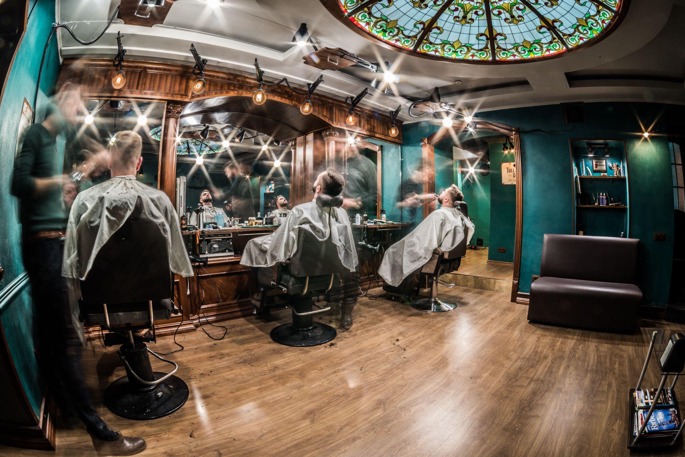 barbershop. Black Bedroom Furniture Sets. Home Design Ideas