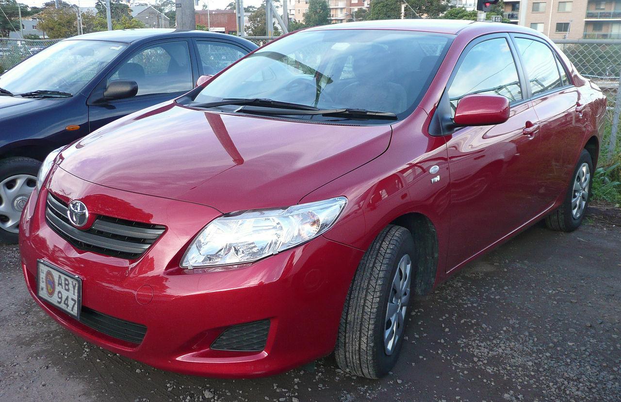 Toyota Corolla считается самым продаваемым автомобилем в мире