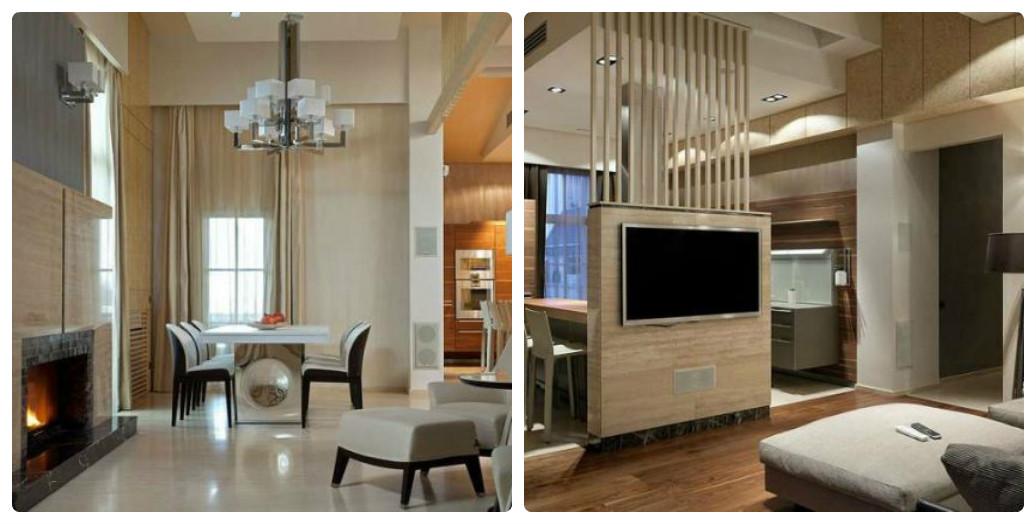 Сама квартира находится на 6-м этаже, ее общая площадь 372 м2