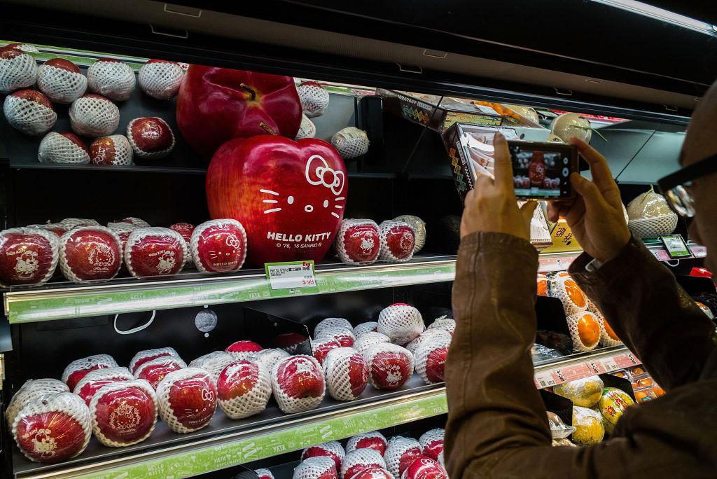 В супермаркетах фотографировать можно