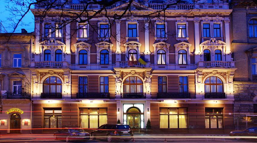 Отель в центре Львова